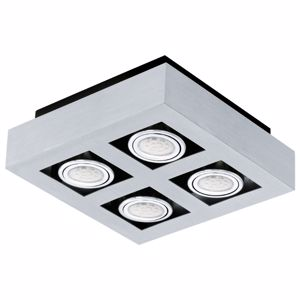 Picture of CEILING LED  LAMP ALUMINIUM COLOR 4-LIGHT