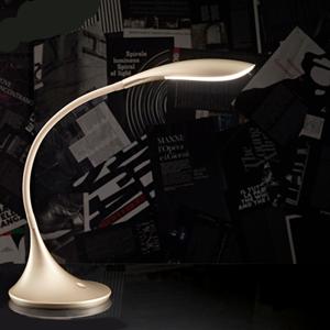 Picture of LAMPADA DA SCRIVANIA PER UFFICIO ORO SATINATO LED 4.5W 3000K