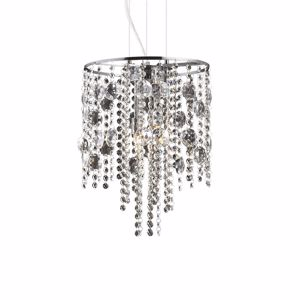 Picture of IDEAL LUX EVASIONE SUSPENSION CRYSTALS SP4 4 LIGHTS