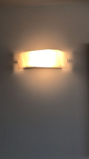 Picture of LINEA LIGHT FACE GLASS WALL LAMP 46CM