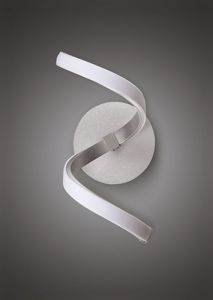 Picture of LED WALL LIGHT 10W MODERN DESIGN WHITE METAL
