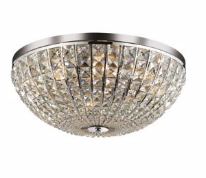 Picture of IDEAL LUX CALYPSO CEILING LAMP CRYSTALS PL8 8 LIGHTS