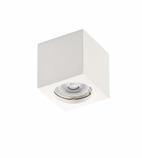 Picture of CEILING SPOT CUBE IN GYPSUM 7X7X8 PAINTABLE