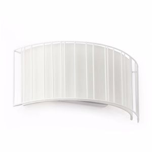 Picture of FARO LINDA WALL LAMP WHITE METAL WITH WHITE SHADE