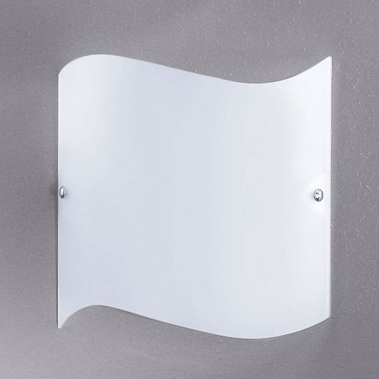 Picture of LINEA LIGHT ONDA WALL LAMP 30X30 WHITE