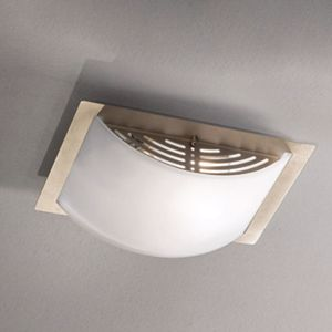 Picture of LINEA LIGHT MET WALLY CEILING LAMP 20X25 NICKEL