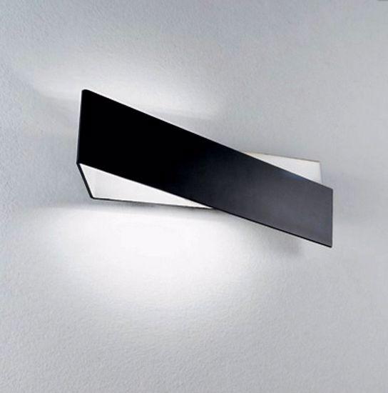 Picture of LINEA LIGHT ZIG ZAG WALL LAMP 43CM BLACK