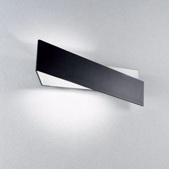 Picture of LINEA LIGHT ZIG ZAG WALL LAMP 26CM BLACK