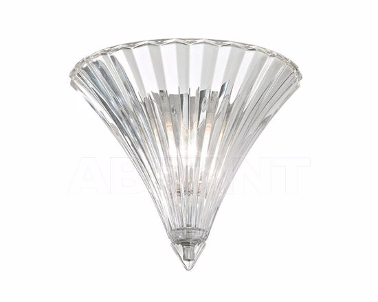 Picture of IDEAL LUX SANTA AP1 SMALL WALL LAMP IN TRANSPARENT GLASS