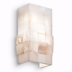 Picture of IDEALLUX STONES AP2 WALL LAMP ALABASTER