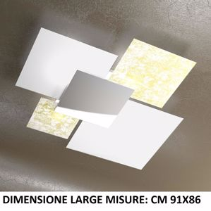Picture of TOP LIGHT SHADOW CEILING LAMP 91CM GOLD LEAF