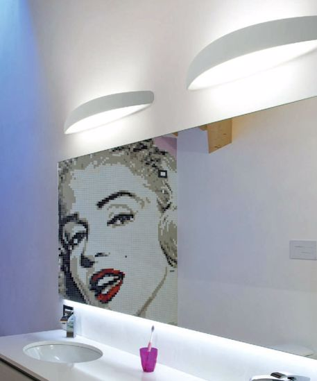 Picture of LINEA LIGHT PRIME WALL LAMP FOR BATHROOM LED 13W 72CM CHROME