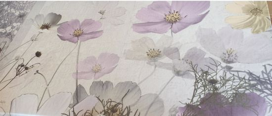 Picture of MANIE FLORAL WALL ART 140X70 ABSTRACT CANVAS