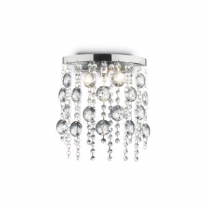Picture of IDEAL LUX EVASIONE WALL LAMP CRYSTALS AP3 3 LIGHTS