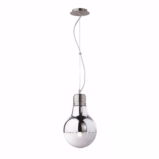 Picture of IDEAL LUX LUCE CHROME GLASS SUSPENSION SP1 BIG