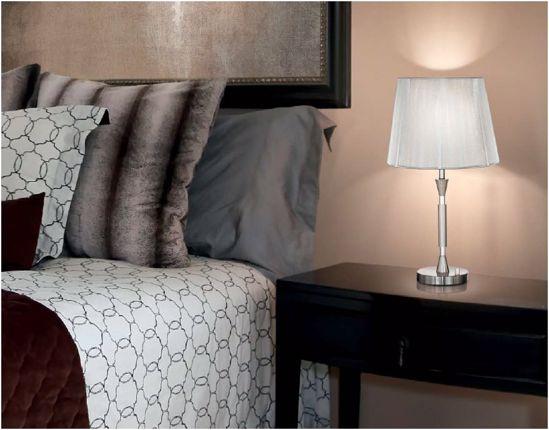 Picture of IDEAL LUX PARIS TABLE LAMP WITH SHADE TL1 BIG