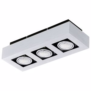 Picture of CEILING LED  LAMP ALUMINIUM COLOR 3-LIGHT