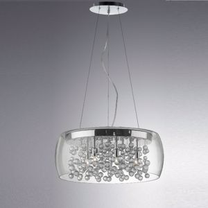 Picture of IDEAL LUX AUDI 80 PENDANT LAMP PENDANTS SP8 8 LIGHTS
