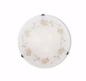 Picture of IDEAL LUX FOGLIA PL3 D50 HAND DECORATED CEILING LAMP