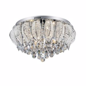 Picture of IDEAL LUX MOZART CEILING LAMP CRYSTAL PL9 9 LIGHTS