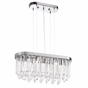 Picture of EGLO CALAONDA OVAL ELEGANT CHANDELIER CRYSTAL
