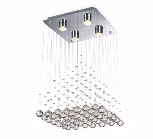 Picture of CEILING LAMP CHROME WITH PENDANT CRYSTALS