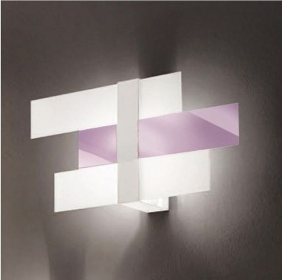 Picture of LINEA LIGHT TRIAD MODERN WALL LAMP 48X25 LILAC