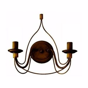 Picture of IDEAL LUX CORTE AP2 HANDCRAFTED WALL LAMP RUST