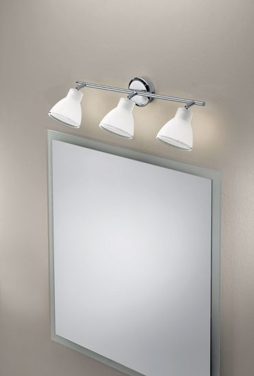 Picture of LINEA LIGHT CAMPANA ADJUSTABLE WALL LAMP 3LIGHTS CHROME