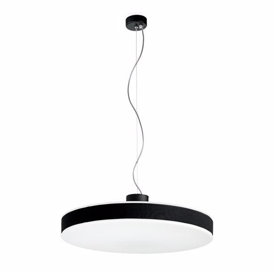 Picture of LINEA LIGHT MOVE+ PENDANT LAMP LED SWING BLACK