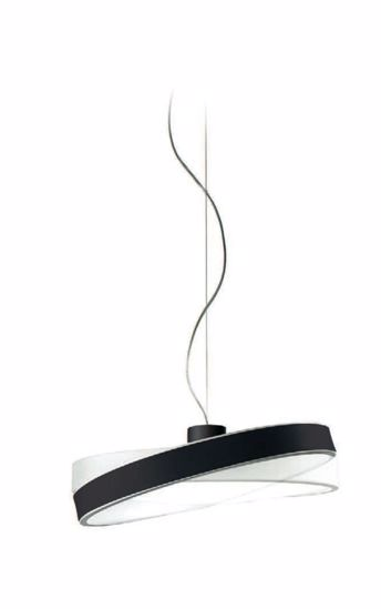 Picture of LINEA LIGHT MOVE+ PENDANT LAMP LED SWING BLACK