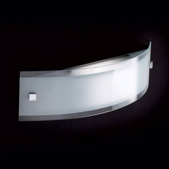 Picture of IDEAL LUX DENIS AP1 SMALL WALL LAMP WITH TRIPLE GLASS