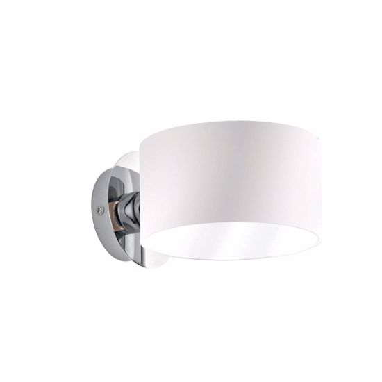 Picture of IDEAL LUX ANELLO WALL LAMP IN WHITE GLASS AP1