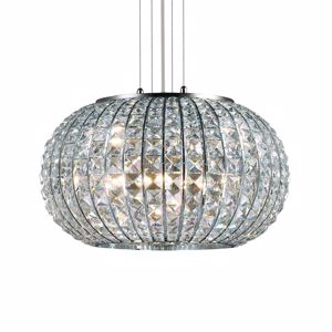 Picture of IDEAL LUX CALYPSO SUSPENSION CRYSTALS SP5 5 LIGHTS