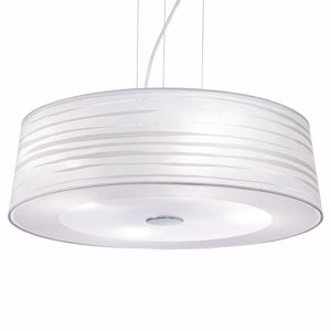 Picture of IDEAL LUX ISA SP4 WHITE SUSPENSION