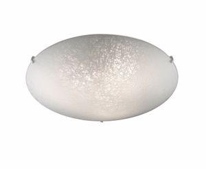 Picture of IDEAL LUX LANA GLASS CEILING LAMP PL3 Ø40CM