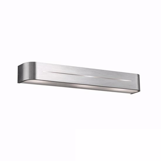 Picture of IDEAL LUX POSTA WALL LAMP AP3 ALUMINIUM