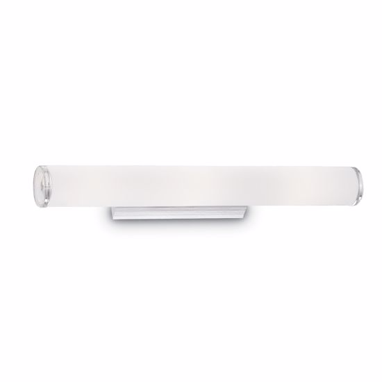 Picture of IDEAL LUX CAMERINO AP4 CYLINDRICAL WALL LAMP IN GLASS 65CM