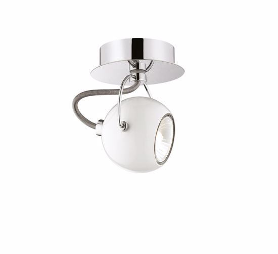 Picture of IDEAL LUX LUNARE SPOTLIGHT AP1 WHITE