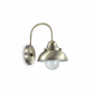 Picture of IDEAL LUX SAILOR AP1 D20 RUSTIC WALL LAMP BRONZE
