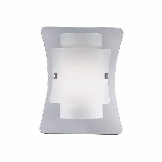 Picture of IDEAL LUX TRIPLO AP1 WALL LAMP WITH THREE GLASS ELEMENTS