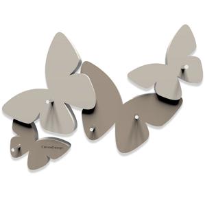 Picture of CALLEA DESIGN MAGNETIC KEY HOLDER BUTTERFLIES DOVE GREY