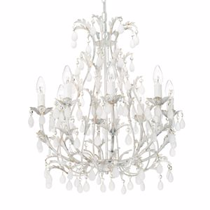 Picture of IDEALLUX CASCINA SP8 CHABBY CHIC CHANDELIER