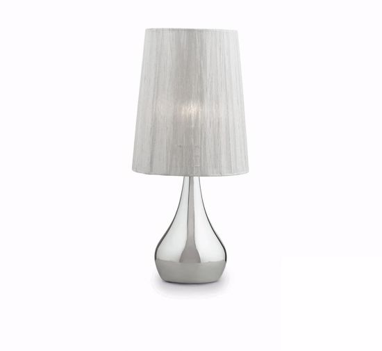 Picture of IDEALLUX ETERNITY TL1 SMALL BEDSIDE LAMP IN CONTEMPORARY STYLE