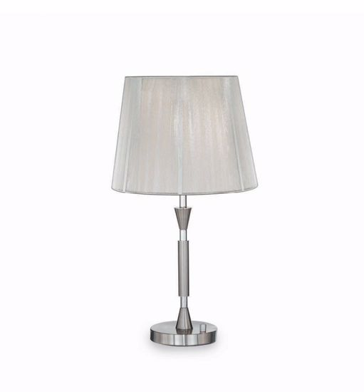 Picture of IDEAL LUX PARIS TABLE LAMP WITH SHADE TL1 SMALL
