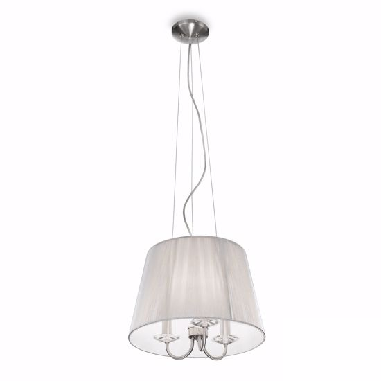 Picture of IDEAL LUX PARIS PENDANT LAMP WITH SHADE SP3