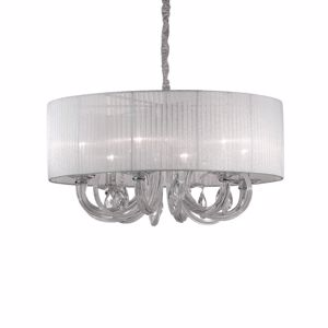 Picture of IDEAL LUX SWAN GLASS SUSPENSION SP6