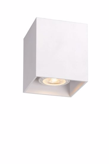 Picture of FARO CEILING SPOTLIGH CUBO WHITE METAL SQUARE