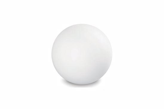 Picture of LINEA LIGHT OH! FLOOR FLOOR LAMP SPHERE WHITE Ø55CM