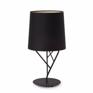 Picture of FARO TREE TABLE LAMP WITH BLACK SHADE